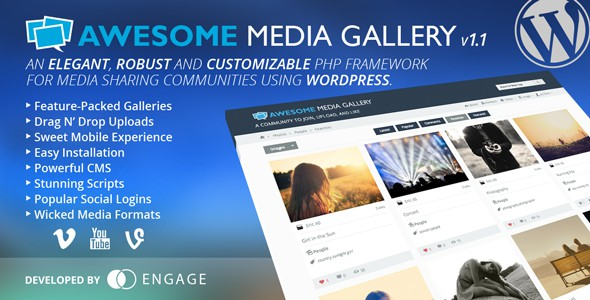 Awesome-Media-Gallery-Wordpress-Plugin