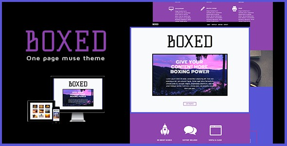 Boxed-One-Page-Muse-Theme