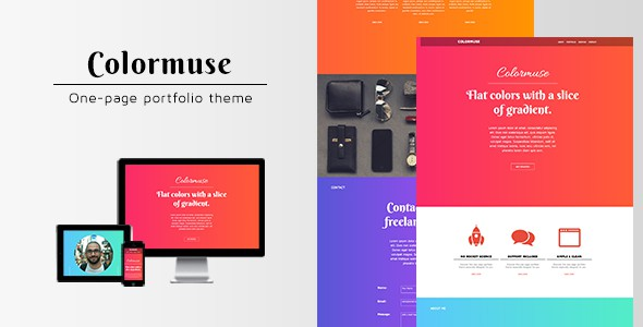 Colormuse-One-Page-Portfolio-Muse-Theme