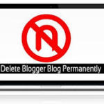 Delete a Blog on Blogger