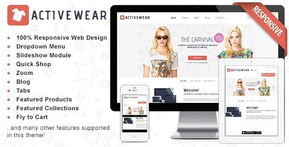 25 awesome responsive shopify themes for online shop 2018 responsive shopify theme activewear pronofoot35fo Image collections
