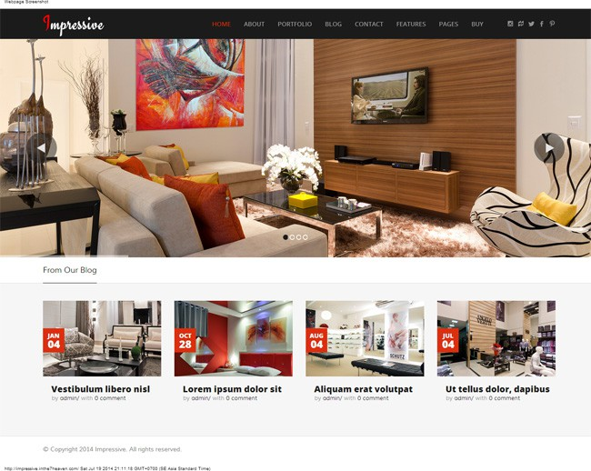 10 Best Interior Design Wordpress Themes 2018