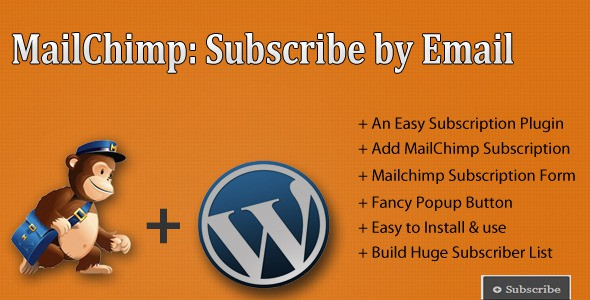 how to use mailchipm with wordpress