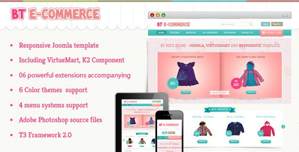 e commerce sites templates - 8 best virtuemart joomla templates 2018